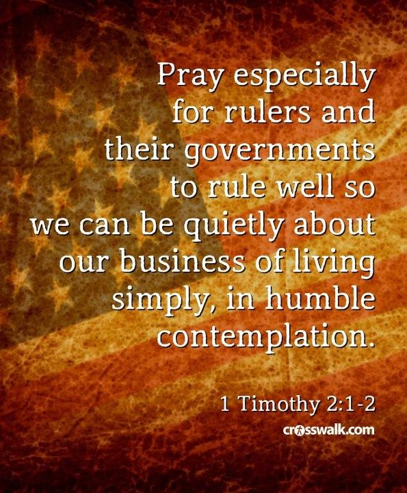 Prayer for Government