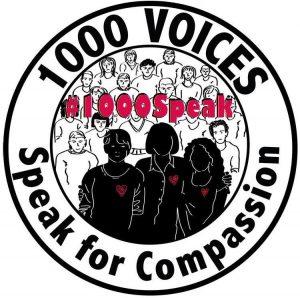 1000 speak for compassion