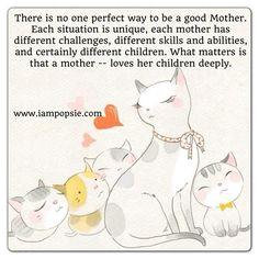 mother loves her children